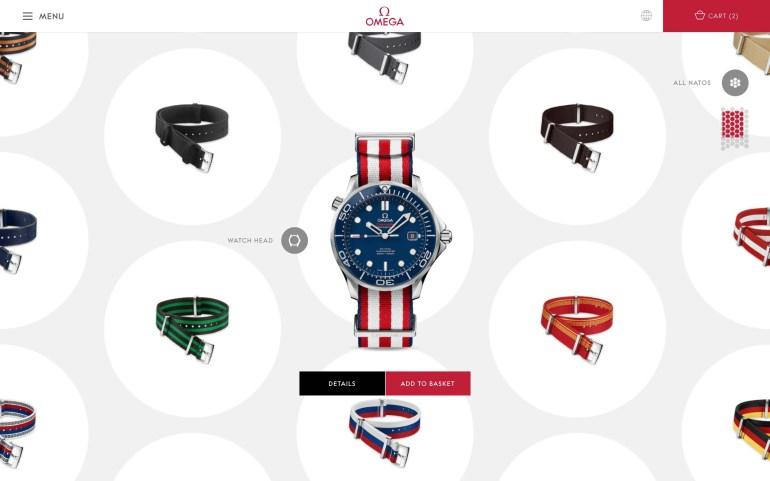 Colour your Omega: Omega NATO-Armbänder jetzt online bestellbar