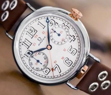Sammlerstück: First OMEGA Wrist-Chronograph Limited Edition