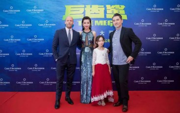 Carl F.Bucherer Sponsor der Film-Weltpremiere von The Meg