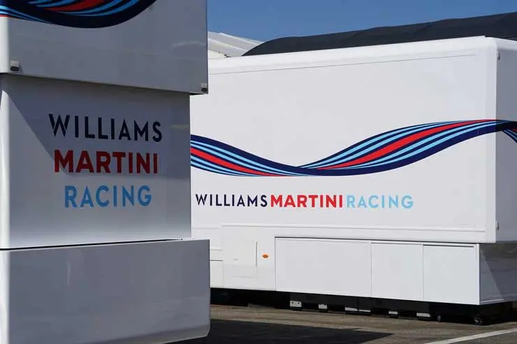 Oris Williams Martini Racing