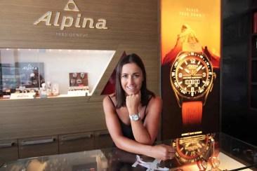Irene Curtoni verlängert Partnerschaft mit Alpina