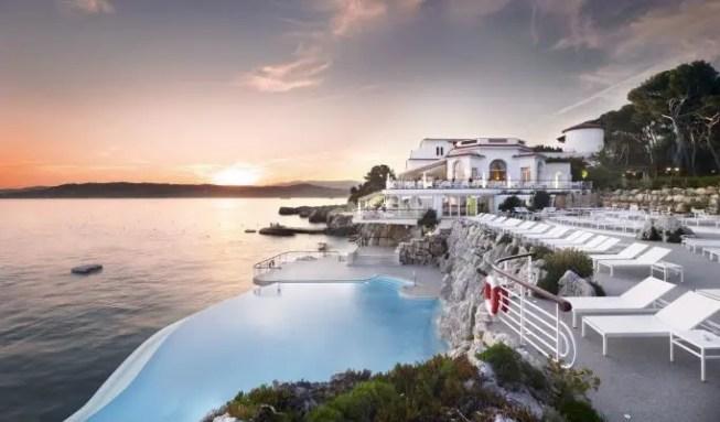Das Hôtel du Cap-Eden-Roc, Cap d'Antibes, Frankreich