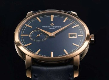 Dreimal Blau: Vacheron Constantin Traditionnelle Bucherer Blue Editions
