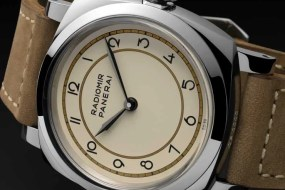 Retro bei Panerai: Radiomir 1940 3 Days Acciaio – 47 mm