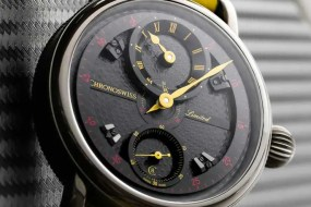 Colour your life: Chronoswiss Regulator in Schwarz-Gelb-Rot