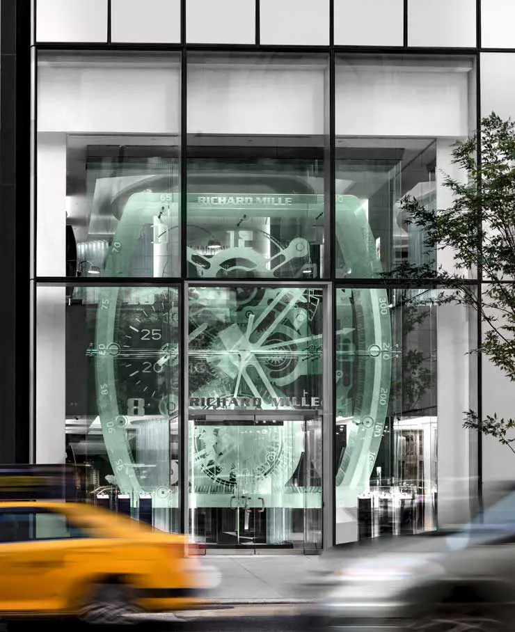 Richard Mille Boutique New York eröffnet