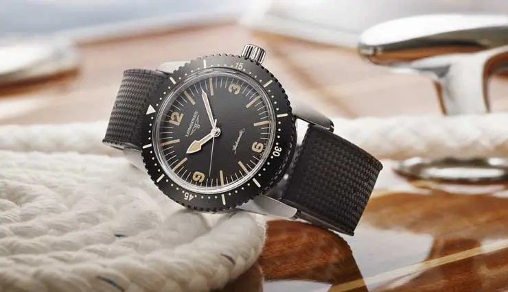 The Longines Skin Diver Watch