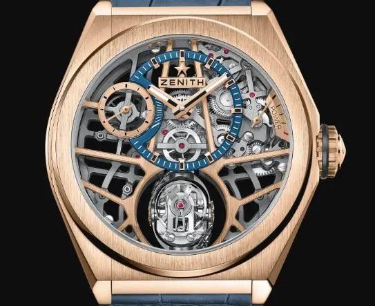 Haute Horlogerie a la Zenith: DEFY Zero G