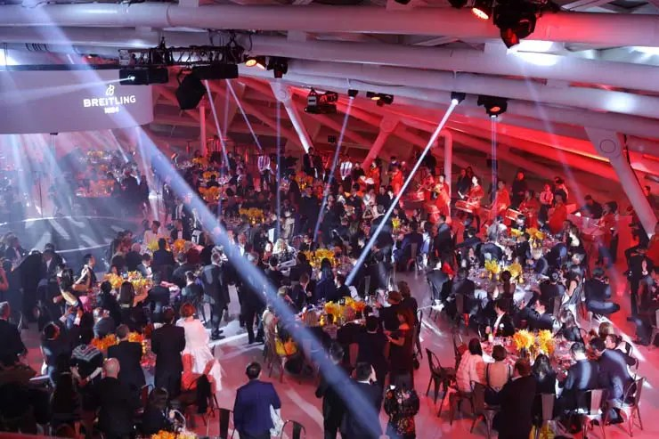 Nov 20th Breitling Gala Night Beijing. Gala Dinner Performance (PPR/Breitling)