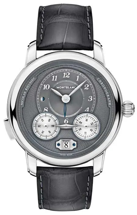 Montblanc Star Legacy Nicolas Rieussec Chronograph Steel ID 119954 EUR 7.450