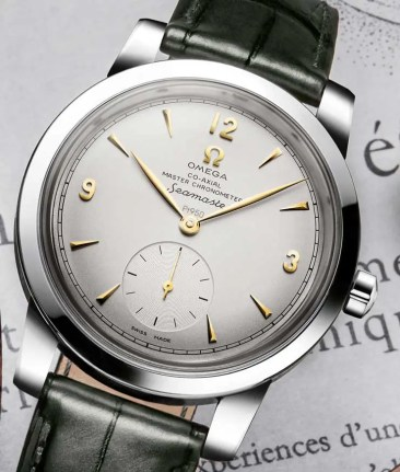 Omega Seamaster 1948 Limited Edition jetzt auch in edlem Platin