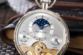 Ein guter Grund, mal wieder in die Tasche zu greifen: die Taschenuhr Lépine Hebdomas