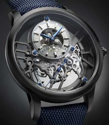 Preview: Jaquet Droz Grande Seconde Skelet-One Ceramic