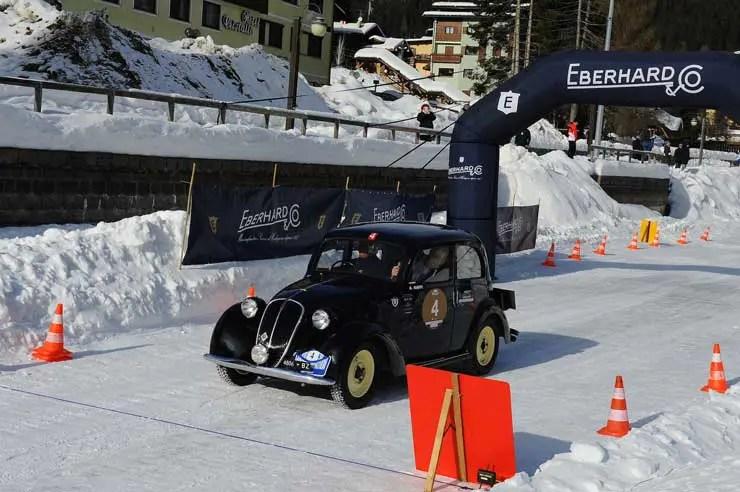 "Eberhard & Co mit ""Tazio Nuvolari"" beim Winter Marathon 2019"