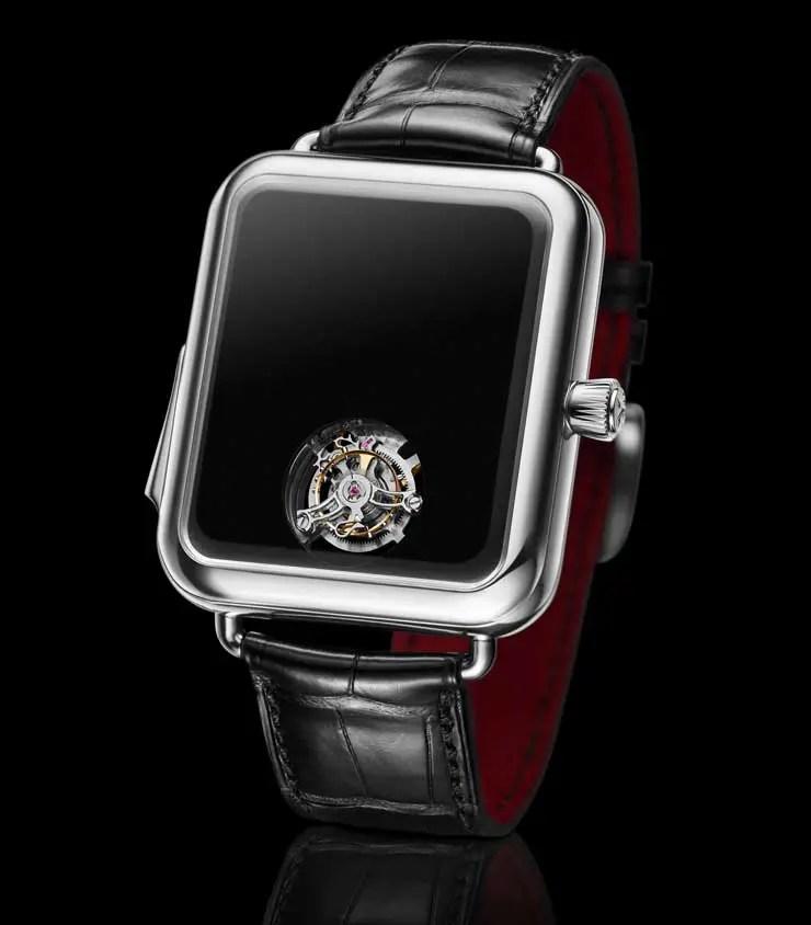 Schweizer Minimalismus als Markenzeichen: die Swiss Alp Watch Concept Black