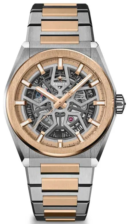 Zenith Defy Classic Two-Tone in Titanium & Gold
