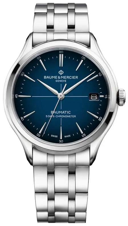 Clifton Baumatic Cadran Bleu