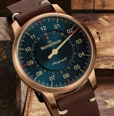 Baselworld Preview: MeisterSinger Bronze-Linie
