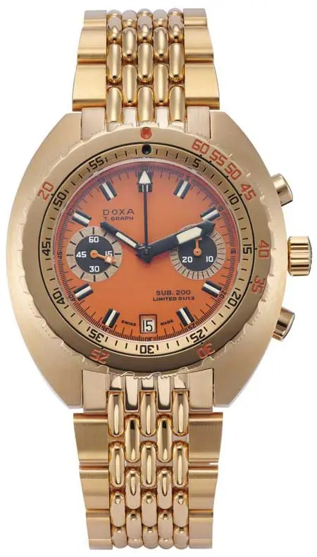 Doxa T-Graph limited edition