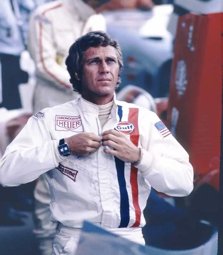 1971_TAG Heuer Monaco und Steve McQueen