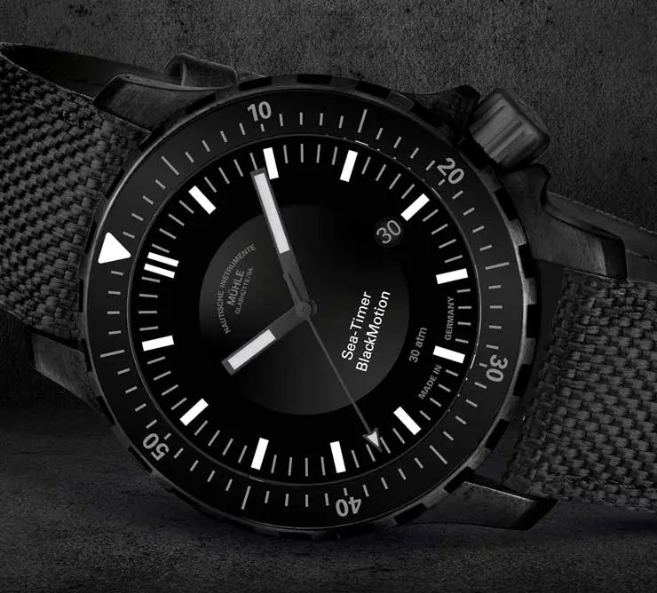 Baselworld Preview: Mühle Glashütte Sea-Timer BlackMotion