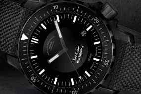 Baselworld Preview: Mühle Glashütte Sea-Timer BlackMotion