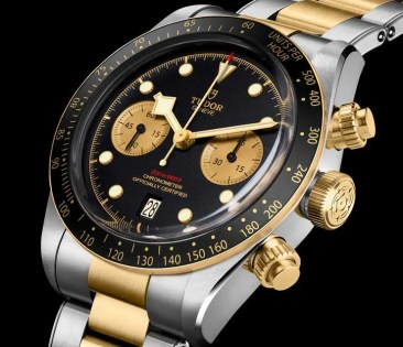 Baselworld Neuheit: Tudor Black Bay Chrono S&G