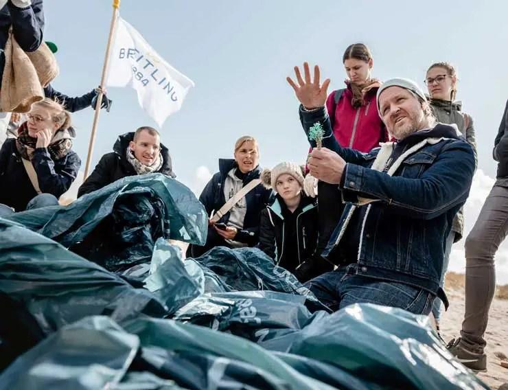 Breitling macht sauber: Beach Clean Up mit der Surfrider Foundation Deutschland auf Sylt