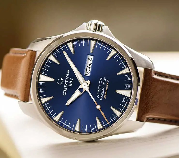 Everydays Darling: Certina DS Action Day-Date Powermatic 80