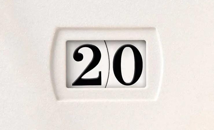 20 Jahre Ewiger Kalender