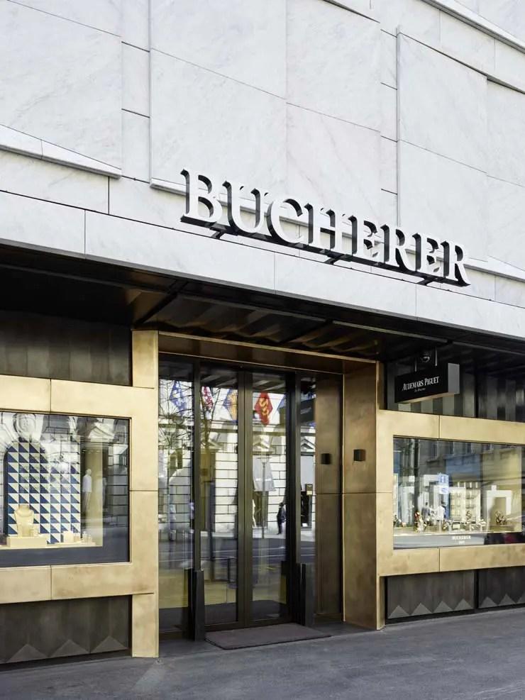Bucherer Flagship-Store an der Bahnhofstrasse in Zürich