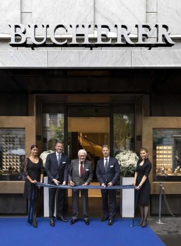 Bucherer Flagship-Store an der Bahnhofstrasse in Zürich nach Umbau wiedereröffnet