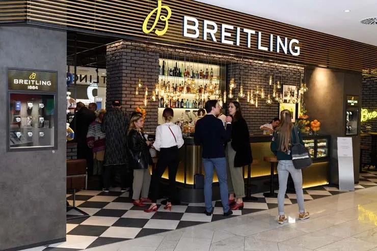 Breitling Bistro-Bar bei Jelmoli in Zürich