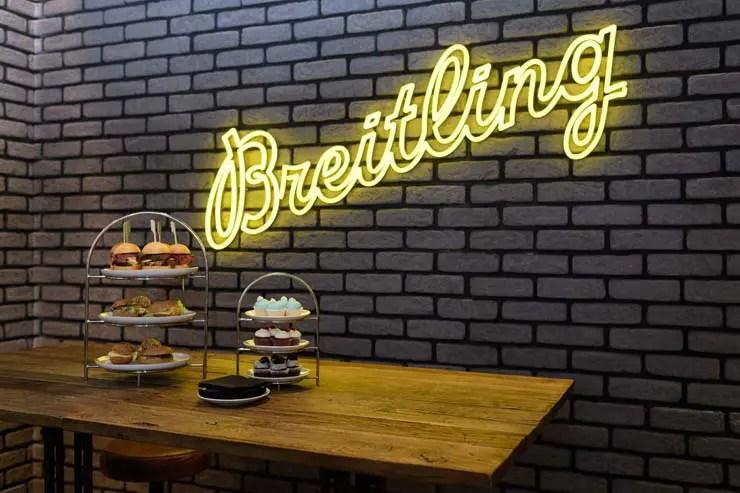 Premiere bei Jelmoli in Zürich: das Breitling Bistro Bar Concept