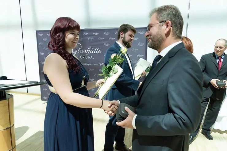"""Glashütte Original: keine Nachwuchs-Sorgen Uhrmacherschule """"Alfred Helwig"""" entlässt Nachwuchs ins Berufsleben"""