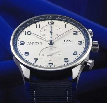 IWC Schaffhausen Portugieser Chronograph Bucherer Blue