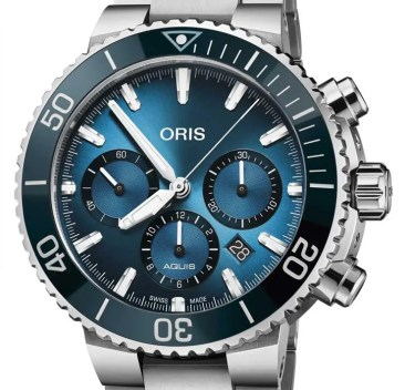 Oris Blue Whale Limited Edition und Oris Ocean Trilogy
