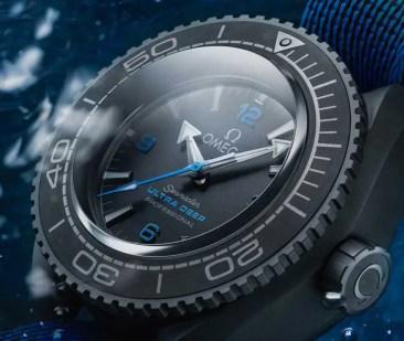 Die Omega Seamaster Planet Ocean Ultra Deep Professional hält neuen Tiefenrekord
