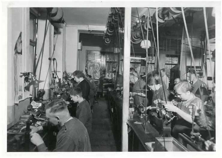 Sonderausstellung Mühle-Glashütte im Deutschen Uhrenmuseum Glashütte