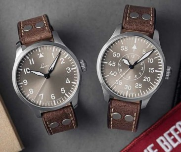 Laco Fliegeruhren in Taupe: Neuer Farbcode, neue limited Edition