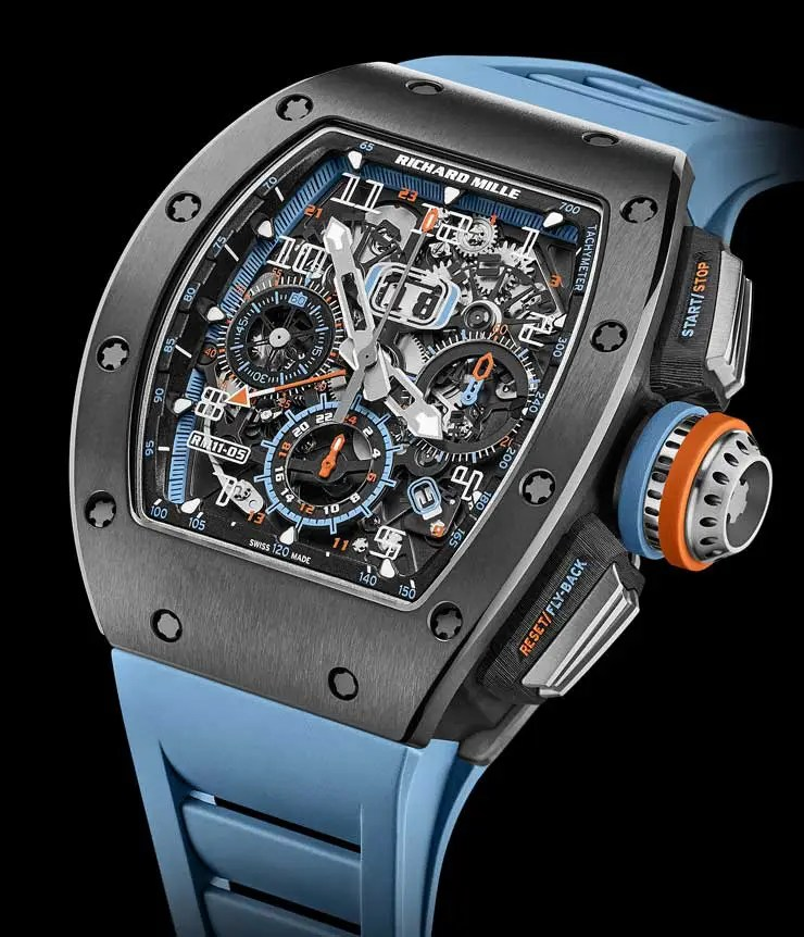 RM 11-05 Automatic Flyback Chronograph GMT