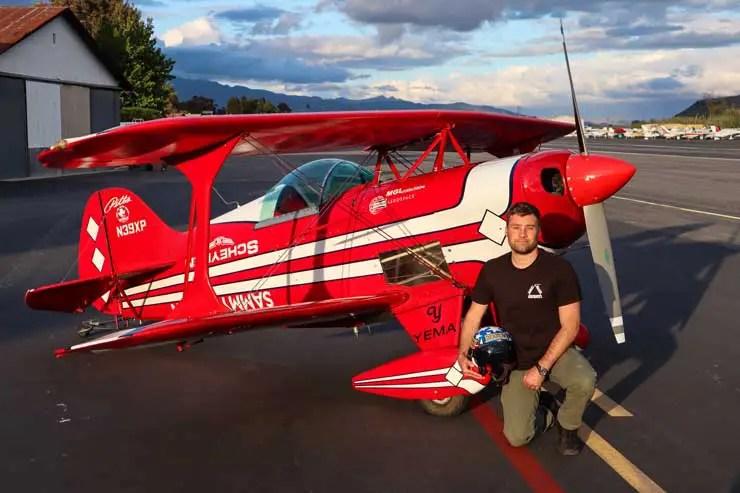 Yema Flygraf Pilot, Sammy Mason