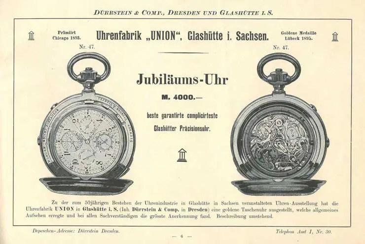 1895 1895 Jubiläumsuhr©stif