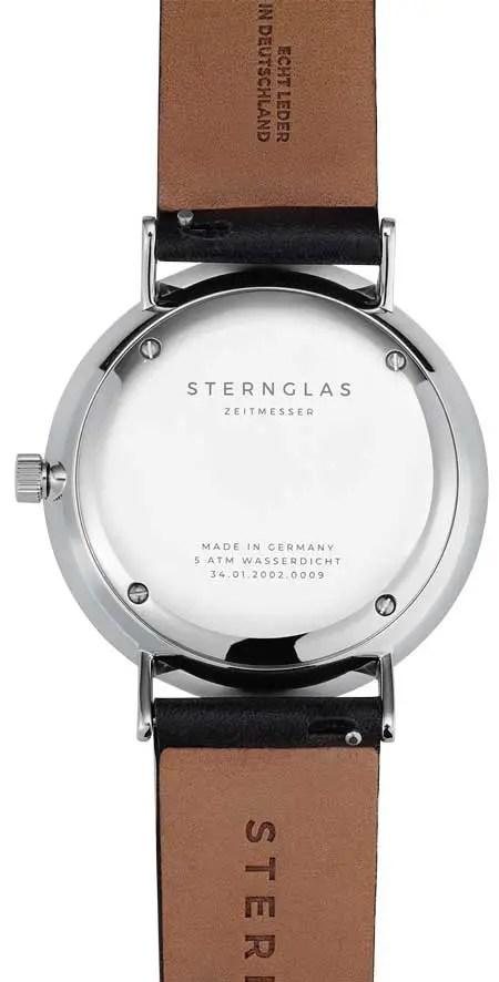 Sternglas IVO schwarzgrau Rückseite