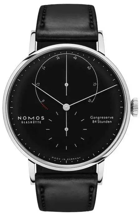 nomos Lambda 175 Years Watchmaking black