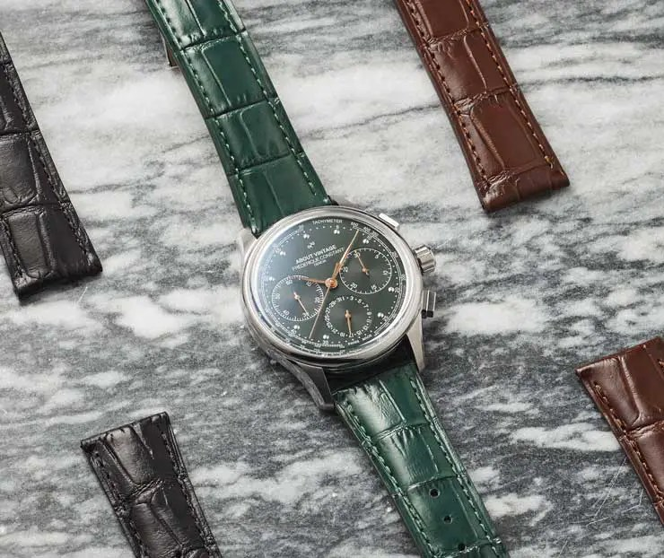 Flyback Chronograph Manufacture Vintage limited Edition