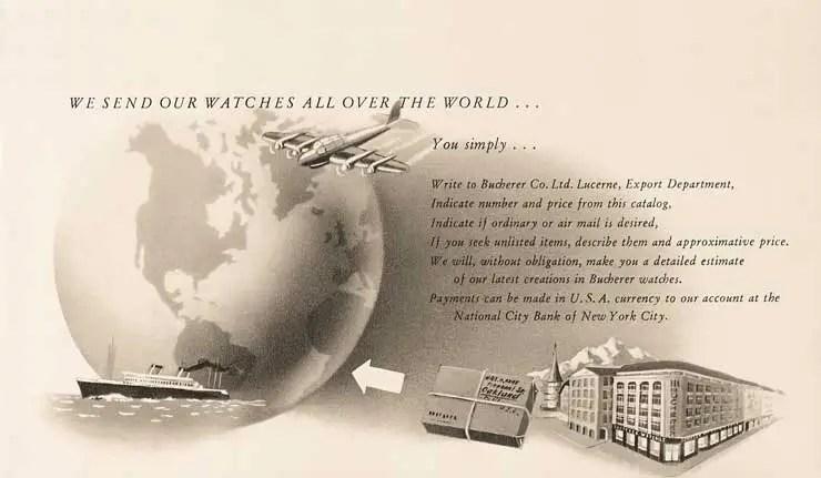 Carl F. Bucherer Advertisement