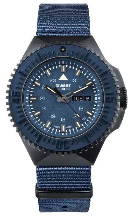 450.traser 109856 P69 Black Stealth, Blau
