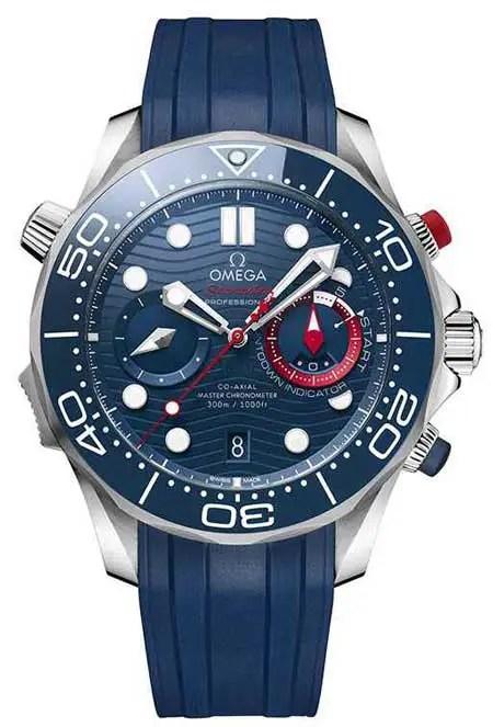 450vs.omega seamaster diver