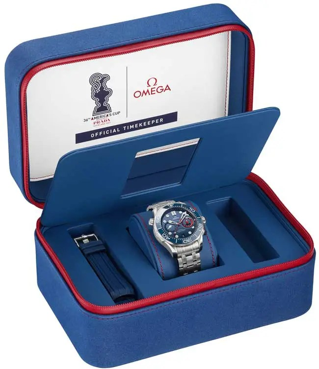 650.Omega Seamaster Diver 300M America's Cup Chronograph